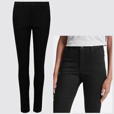 Ladies M&S Sculpt & Lift Skinny Jeans Black Sizes 6 - 20 Leg 25 - 30
