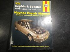 1994-2001 Kia Sephia and Kia Spectra Haynes Repair Manual 1.6L B6 1.8L Mazda BP