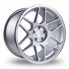 """18""""silver 3sdm 0.09 alloy wheels fit bmw 3/5 series vw t5 csl staggered tyres"""