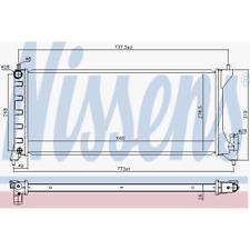 Kühler Motorkühlung - Nissens 630749