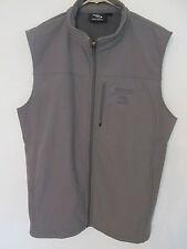 Men's Kathmandu Soft Shell Vest Waterproof Gray Size XL in EUC! Fleece Lined
