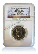 NGC MS68 2013-D William Taft Presidential Dollar Gem Early Releases Position A