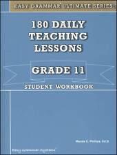 Easy Grammar Ultimate Series: 180 Daily Teaching Lessons Grade 11 Workbook