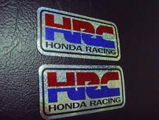 HRC Sticker Decal CBR NSR 250 400 600 900 Fireblade Hornet Parts x2