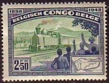 Congo**TRAIN-RAILWAY LINE Matadi-Léopoldville-1948-Ligne Chemin deFer-LOCOMOTIVE