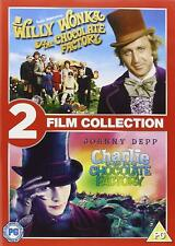 WILLY WONKA AND THE CHOCOLATE FACTORY + CHARLIE Collection (Region 2) DVD