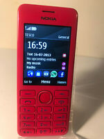 Nokia Asha 206 - Pink - (Unlocked) Mobile Phone - Fully Working & Tested