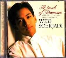 WIBI SOERJADI- A Touch Of Romance- Piano Masterpieces- CD- Debussy/Liszt/Ravel