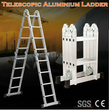 Multi-Purpose Adjustable Telescopic Folding Portable Aluminium Ladder Extension