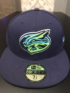 Lynchburg Hillcats New Era 5950 Hat Cap Size 7 1/4 NWT Made In USA