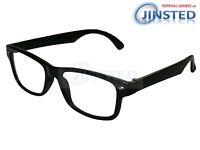 Schwarz Lesebrille Brille Lesebrillen Lang Gesichtet RG034