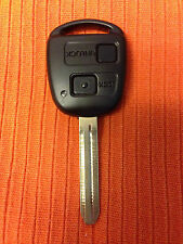 TOYOTA RAV4 YARIS PREVIA ETC REMOTE KEY FOB DENSO 1512V TOY43 CAN CUT&CODE