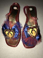 Disney Store Snow White Heels Shoes Dress Up 13/1 Size 13 Size 1 Princess