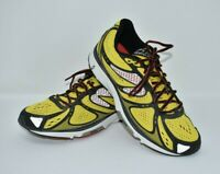 NEWTON KISMET POP2 Yellow Red Running Shoes Men's Size 8.5 EUC