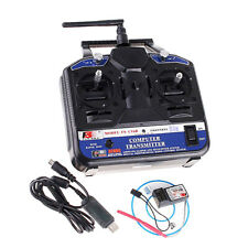 Flysky FS-CT6B 6CH 2.4G AFHDS RC Transmitter Controller with FS-R6B Receiver