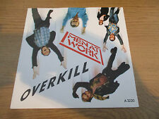 "Men At Work ‎– Overkill      Vinyl 7"" Single UK 1983 Pop Rock EPIC -EPC  A 3220"