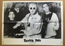 The Beastie Boys Sure Shot Vintage Poster Promo 1990's Pin-up Retro Music Ad *94