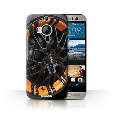STUFF4 Back Case/Cover/Skin for HTC One M9+/Plus/Alloy Wheels