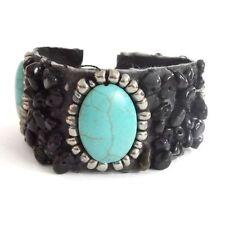 Onyx Cuff Stone Costume Bracelets