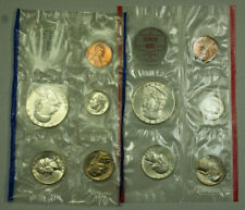 1962 US Silver Mint Set UNC as Issued with OGP