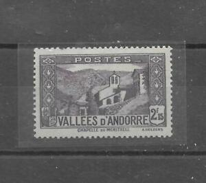 Vallees d' ANDORRA 1936/37 Dalley 65 NEUF mnh/++