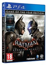 BATMAN ARKHAM KNIGHT GAME OF THE YEAR PS4 ESPAÑOL GOTY CASTELLANO NUEVO