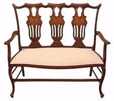 Mahogany Louis XVI Antique Sofas/Chaises