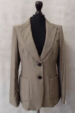 Wool Jacket Suits & Tailoring Pinstripe Women's 2 Piece