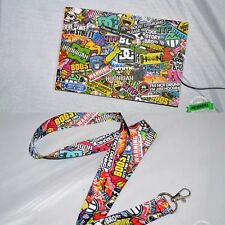 Stickerbomb Car Air Freshener & Stickerbomb Lanyard Combo Pack JDM Illest Drift