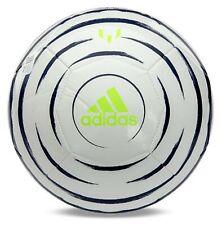 Adidas Unisex Messi Club Soccer Ball White Navy Size 5 Football Balls Fl7026
