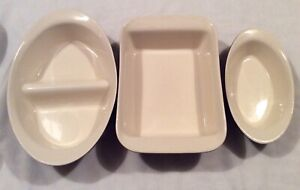 3 x Anthony Worrall Thompson Ceramic Oven Dishes