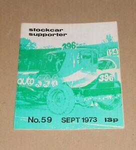 Stockcar Supporter Magazine No.59, September 1973 (Brisca F1/F2)