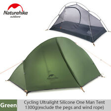 1 Person Ultralight Waterproof Tent Double-layer Outdoor Camping Hiking Tent