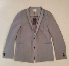 Mens PAUL SMITH RED EAR JACKET Grey Unstructured Shawl Size M (38) RRP £210 New