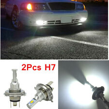 1 Pair CREE H7 35W 4000LM LED Headlight Kit Hi/Lo Light Bulbs 6000K White Light