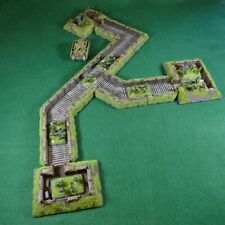 15mm, 12 piece, Flames of War Trench and Dugout Set 1 for WW2 Wargaming