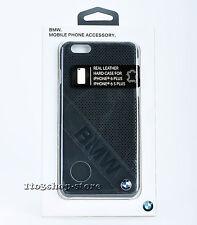 BMW Signature Collection Slanted Logo iPhone 6 Plus iPhone 6s Plus Case Black