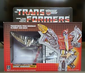BLISTER G1 TRANSFORMERS SWOOP REPRODUCTION INSERT MIB TRAY FOR BOX