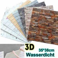 20 Pcs Wandpaneele 3D Ziegel Tapete Selbstklebend Wandaufkleber Panel Wasserfest