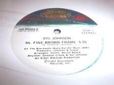 "SYL JOHNSON-MS. FINE BROWN FRAME-3 TRACKS-BOARDWALK NB-99904-9 NEW SEALED 12"""