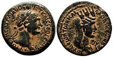 *AET* LAODICEA AD MARE (Syria) AE25. Trajan. VF+. AD 115/6. Tyche.