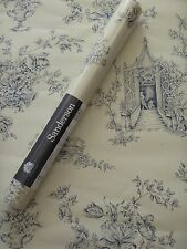 SANDERSON WALLPAPER ENGLISH TOILE 12 ROLLS WR8516/3 OPTIONS 8 BLUE & CREAM