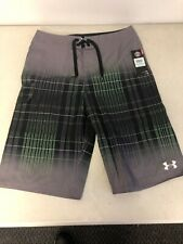 Under Armour UA Fader Black Shorts Youth Boys Size 20 MSRP $39.99