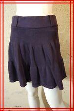 COMPTOIR DES COTONNIERS  Taille S 36 Superbe jupe pruine violet skirt