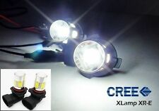 2x CREE XR-E LED Fog Driving Light Lamp 9006 HB4 Projector Bulb 14W Xenon White