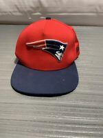 New England Patriots Hat - Vintage - New Era - Snapback Embroidered