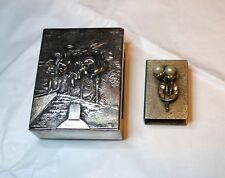Cigarette case and matches case