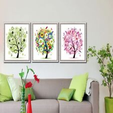 Rhinestone Four Seasons Cross Stitch Wall Decor Crafts Embroidery Painting