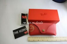 Ray Ban Red With Red Box Sunglasses Case (Authentic)