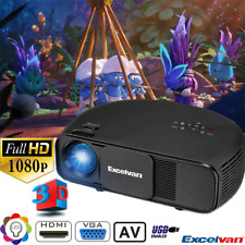 3200lumens 1080P 3D proiettore FULL HD LED VIDEO PROJECTOR USB/HDMI/AV/VGA/3.5mm